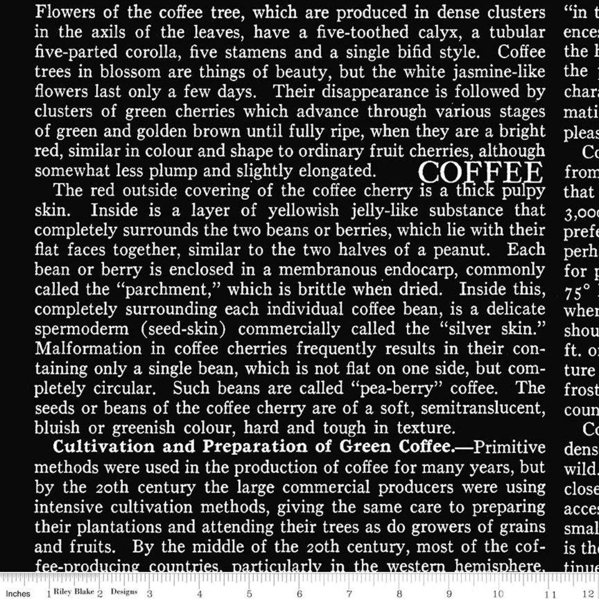 Coffee Chalk Text BLACK