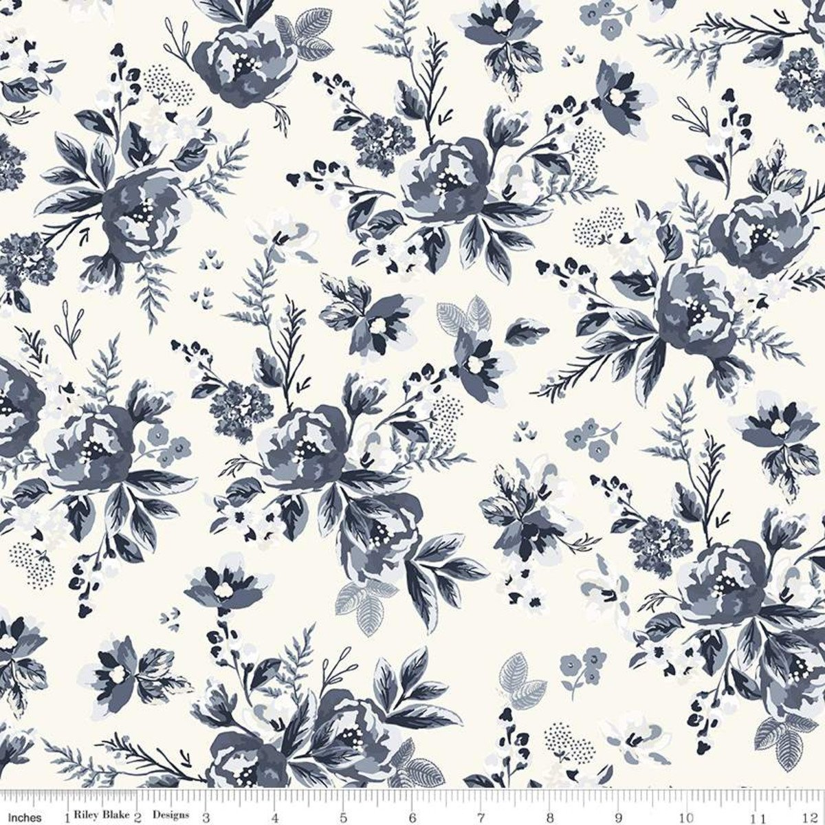 Gingham Foundry Floral CREAM