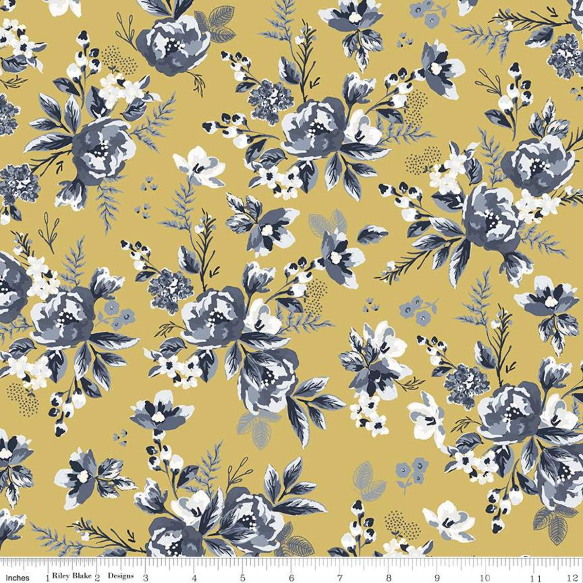 Gingham Foundry Floral HONEY