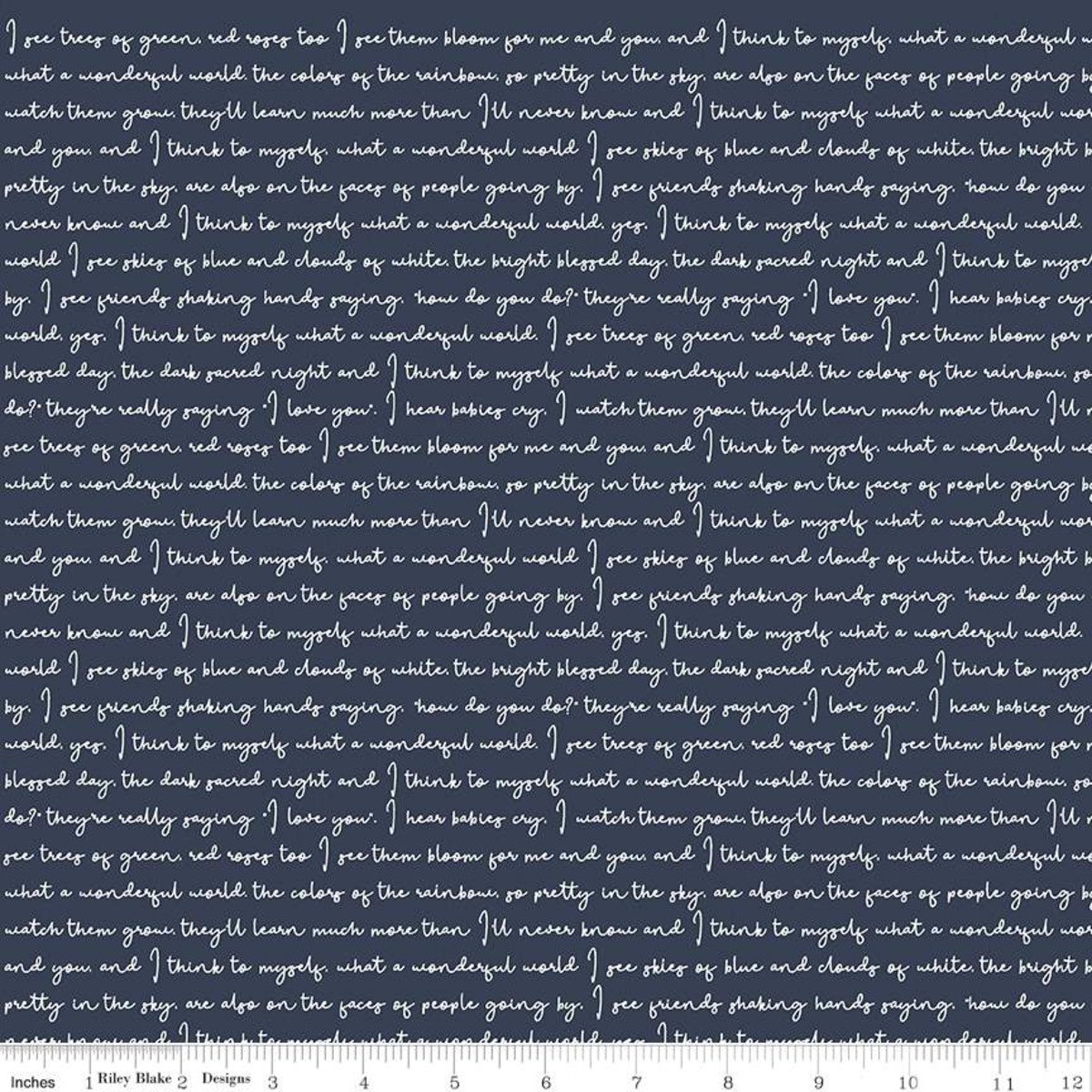 Gingham Foundry Text NAVY