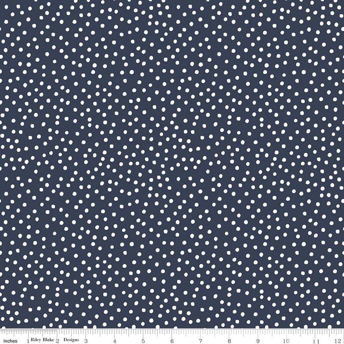 Gingham Foundry Dots NAVY