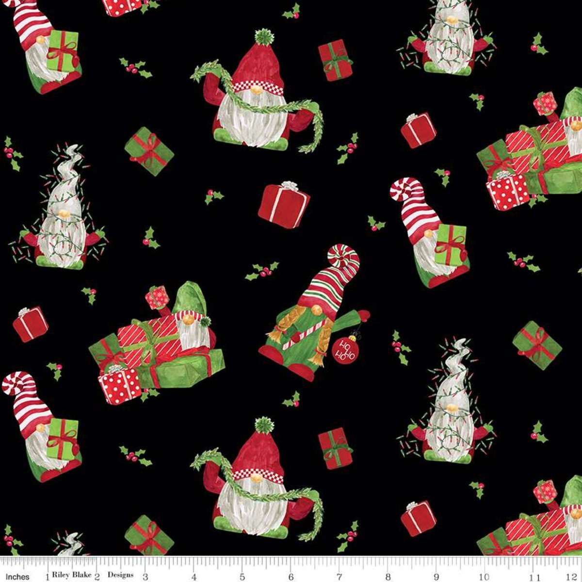 Gnome for Christmas Main BLACK