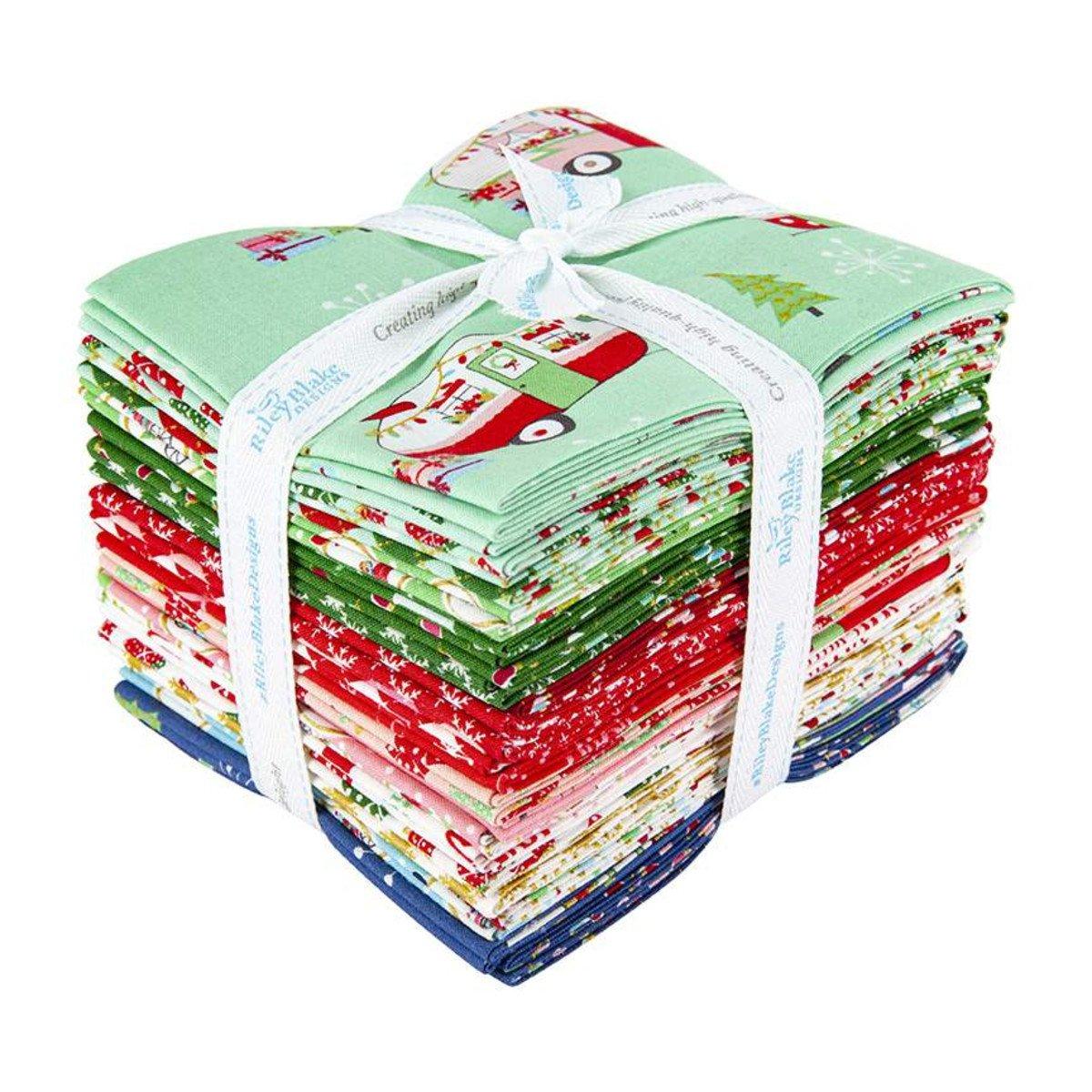Fat Quarter Bundle CHRISTMAS ADVENTURE