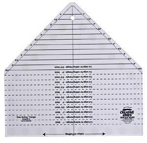 Creative Grids Mini Side Setting Triangle Ruler