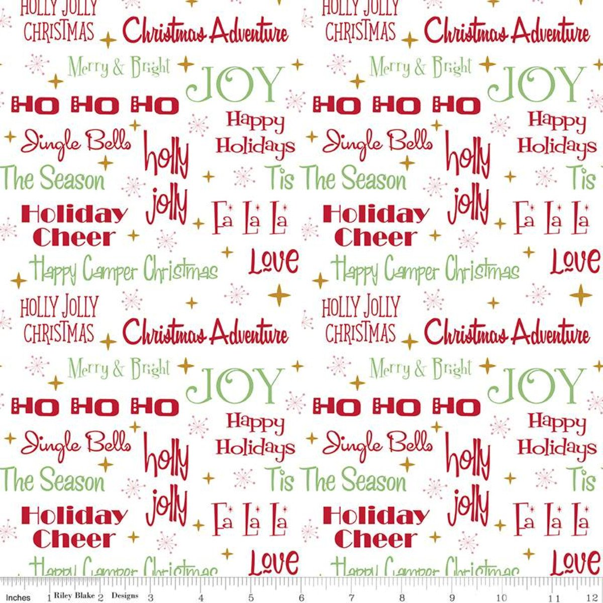Christmas Adventure Phrases WHITE