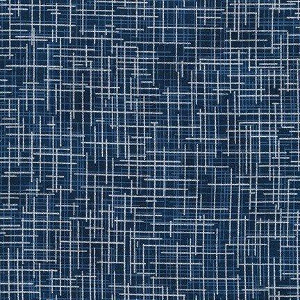 Quilter's Linen Metallic BLUE