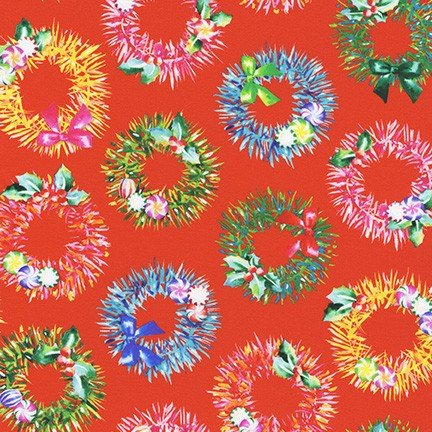 Wishwell: Glow Wreaths RED