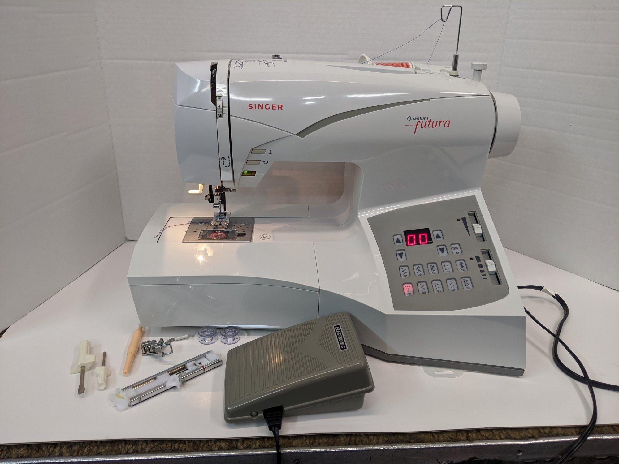 Singer Futura Sewing Machine Rebuilt