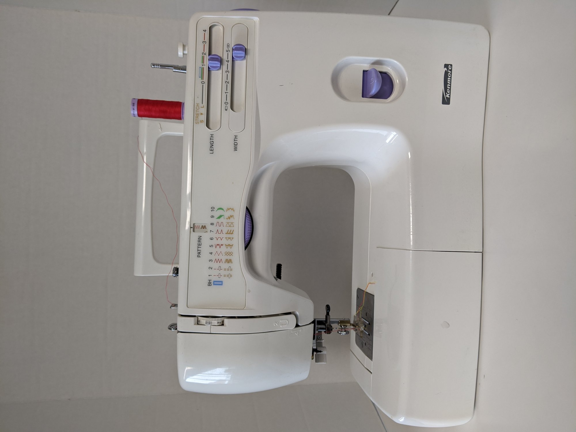 Rebuilt Kenmore Sewing Machine