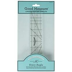 Every Angle 12 Inch Straight Longarm Quilting Ruler