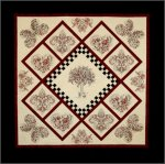 Sepia Petals Embroidery Designs 1