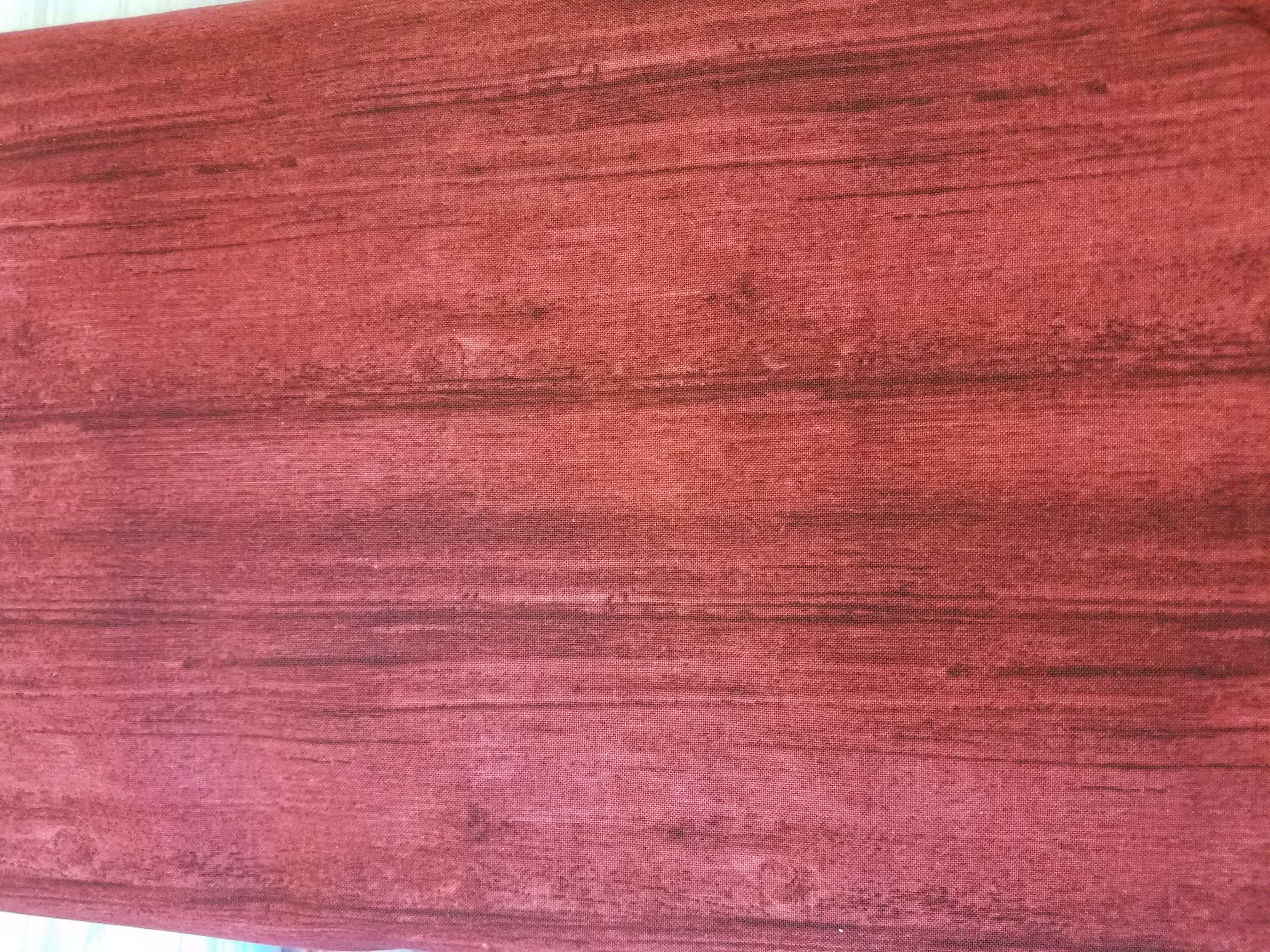 Washed Wood - Claret