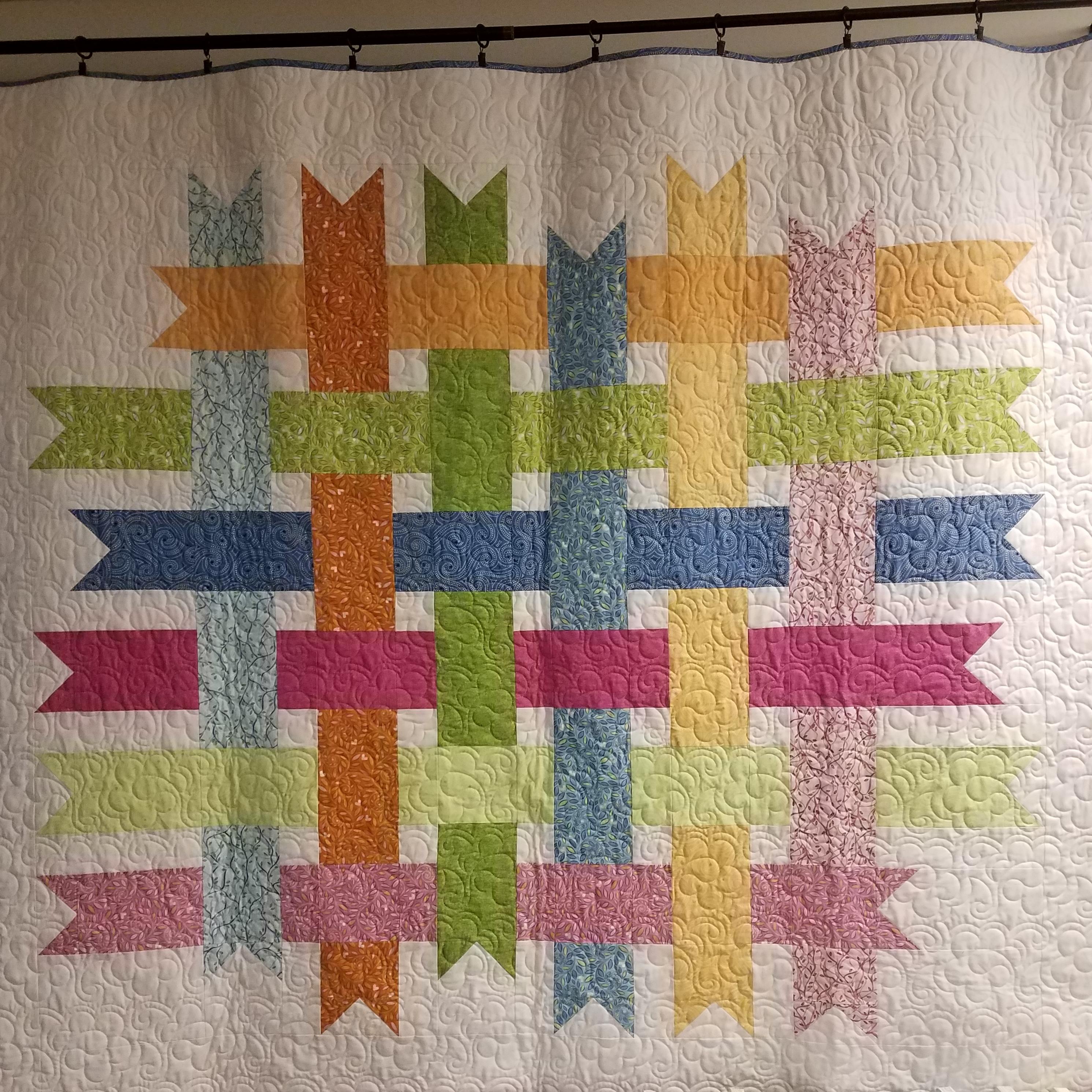 Woven Ribbon Quilt Pattern