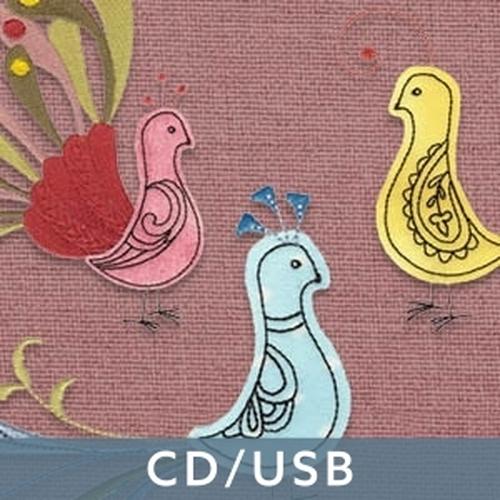 Retro Birds CD