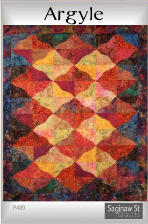 Argyle Quilt by Saginaw St. Quilt Co.