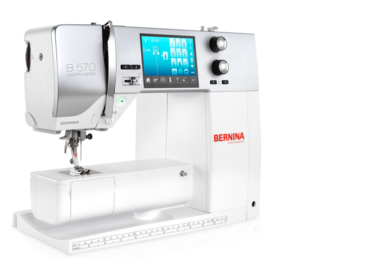 Bernina 570 QE  &  570QEE -Sewing, Quilting and Optional Embroidery