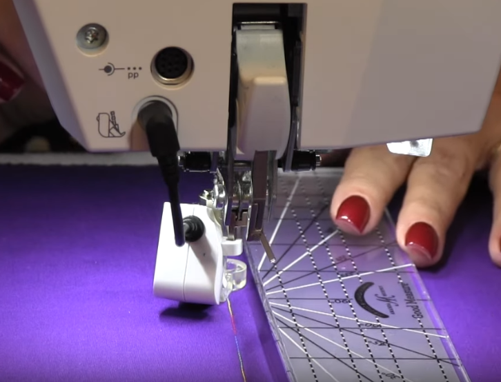 Long Arm Ruler Work Foot Compatible with Bernina BSR