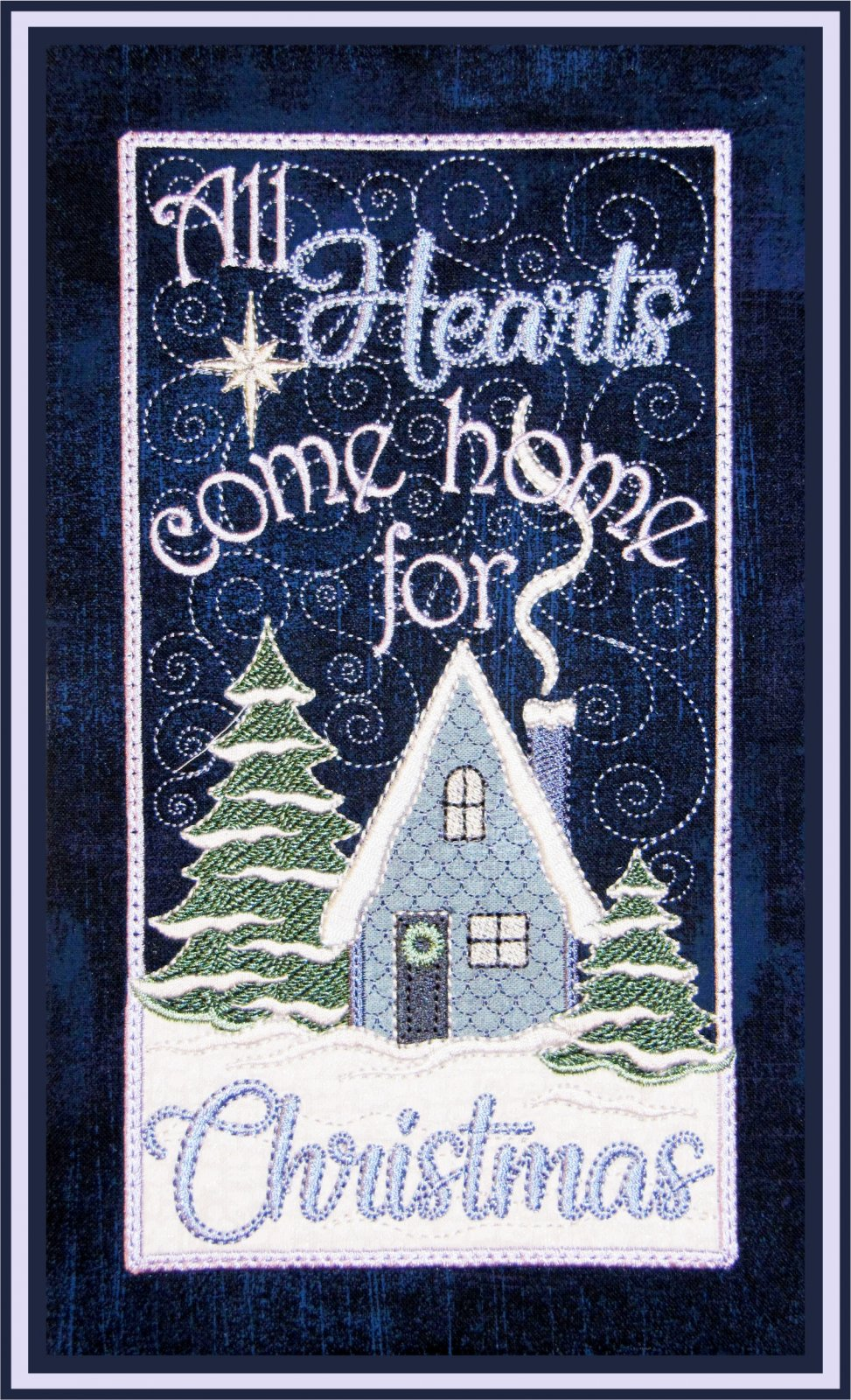 All Hearts Come Home For Christmas - Table Top Display