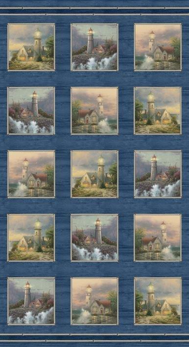Coastal Haven Lighthouse Panels