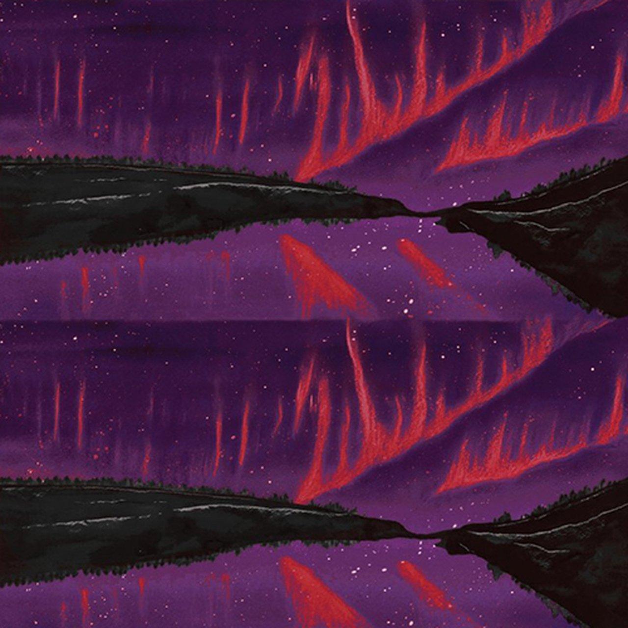 Aurora Borealis Crown IV - Purple