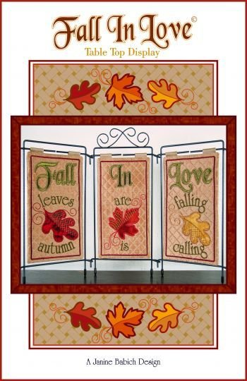 Fall In Love! Tri Pic Design
