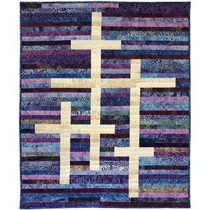 Glory- Jelly Roll friendly scrap quilt