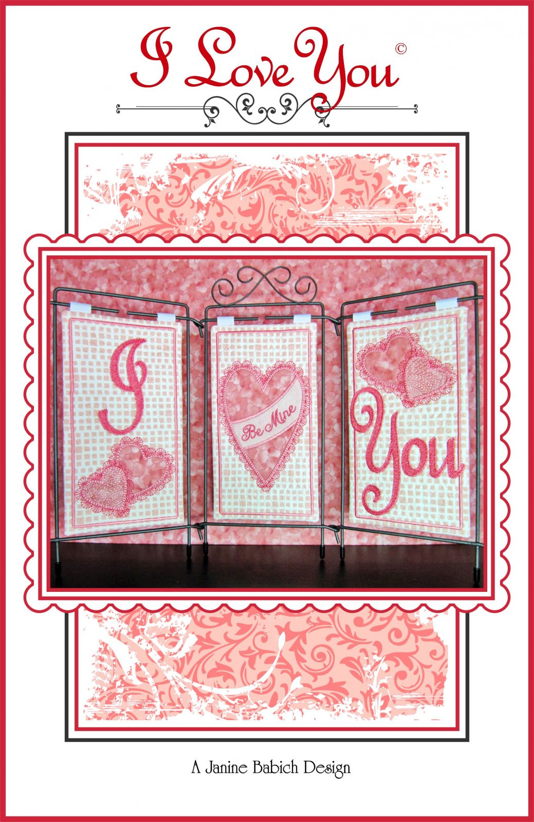 I Love You! Tri Pic Design