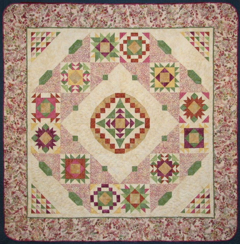 2010 Block of the Month | Summer Serenity