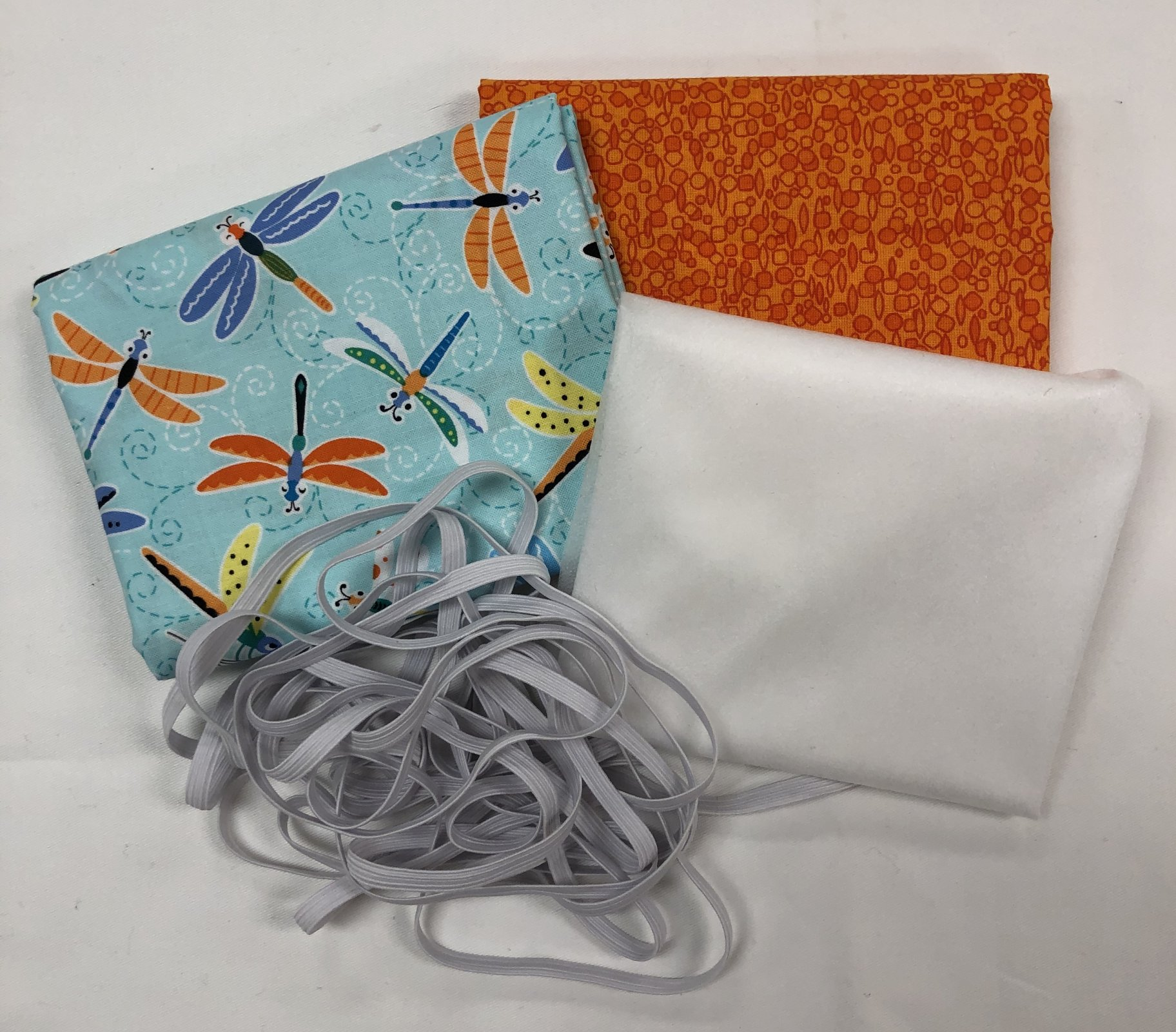 Mask Kit -Dragonflies with Orange