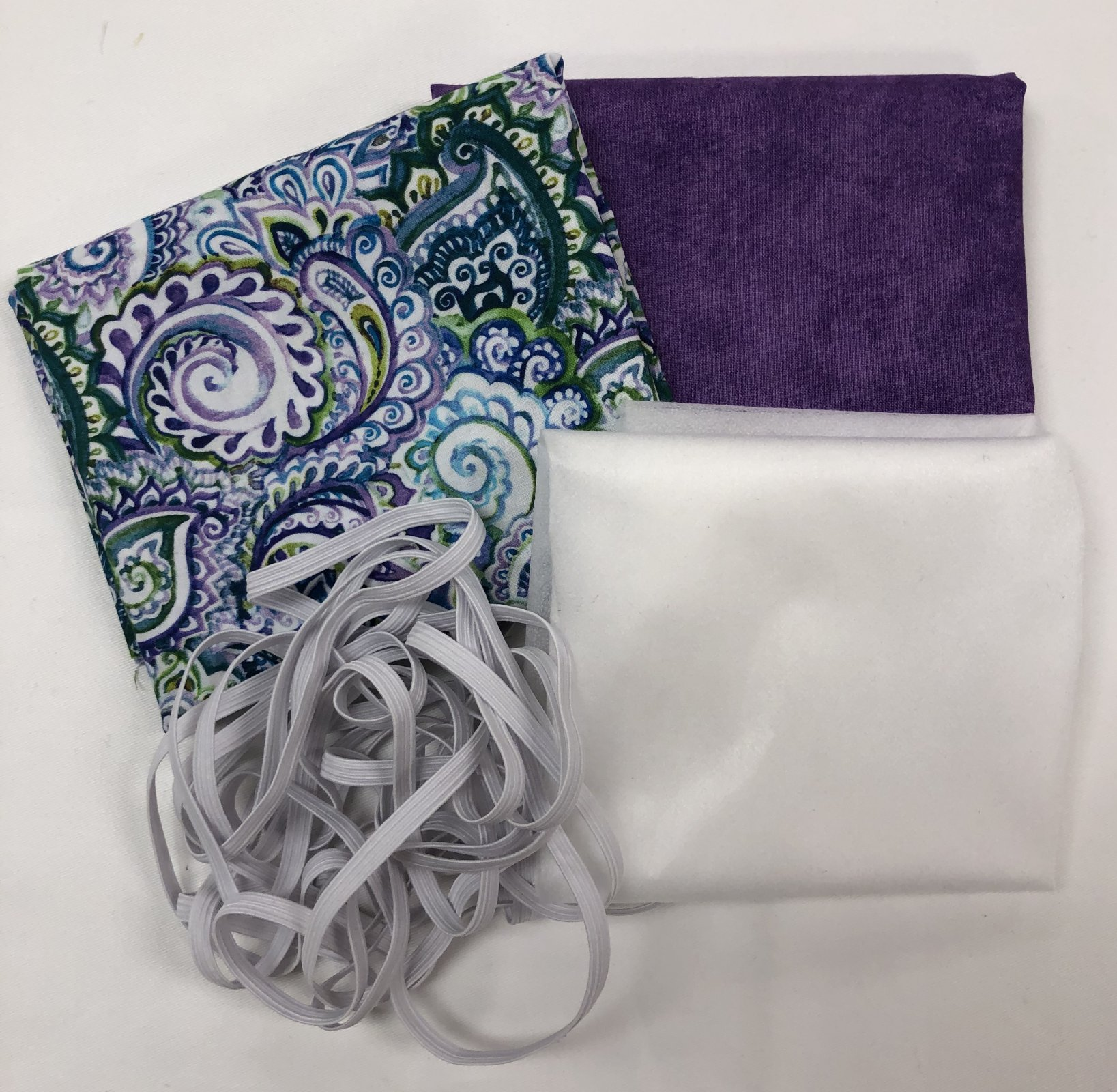 Mask Kit - Paisley w/Purple