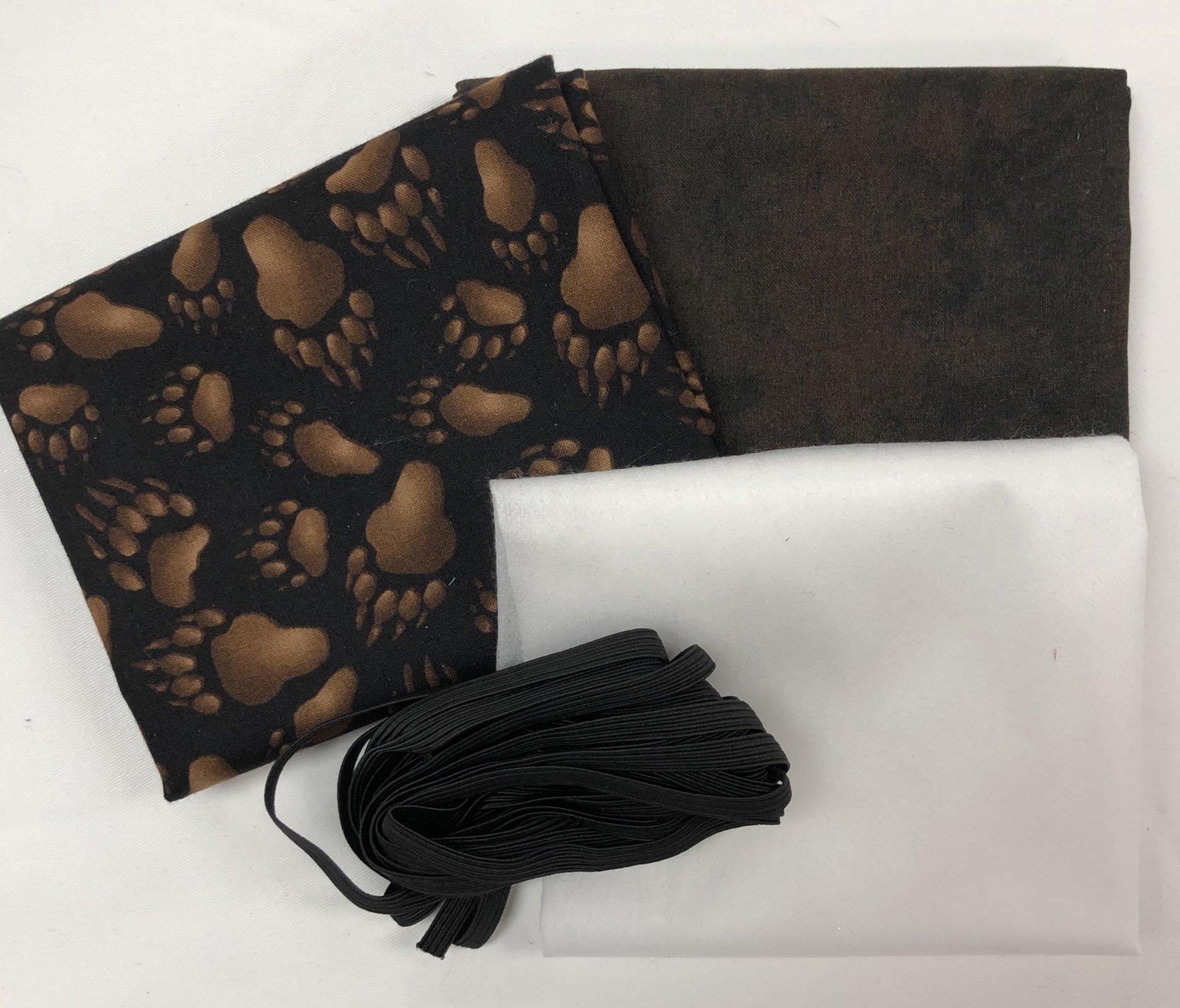 Mask Kit -Bear Paws with Dark Brown