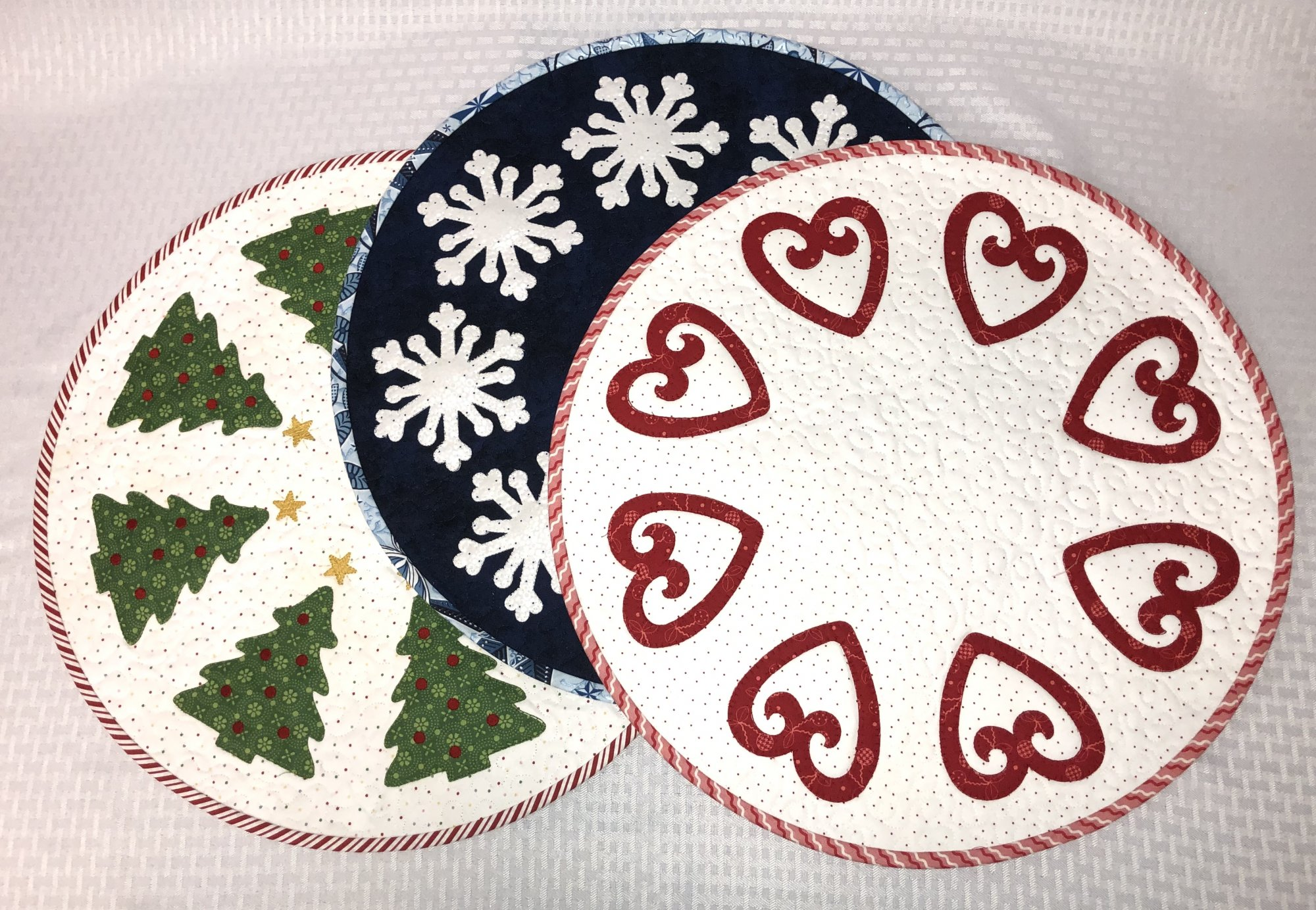 Wish Table Topper Pattern and Embroidery Files