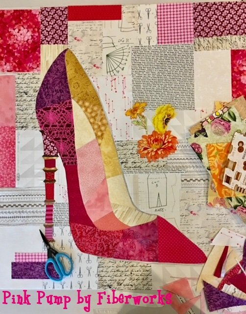 collage quilting with robin reilly