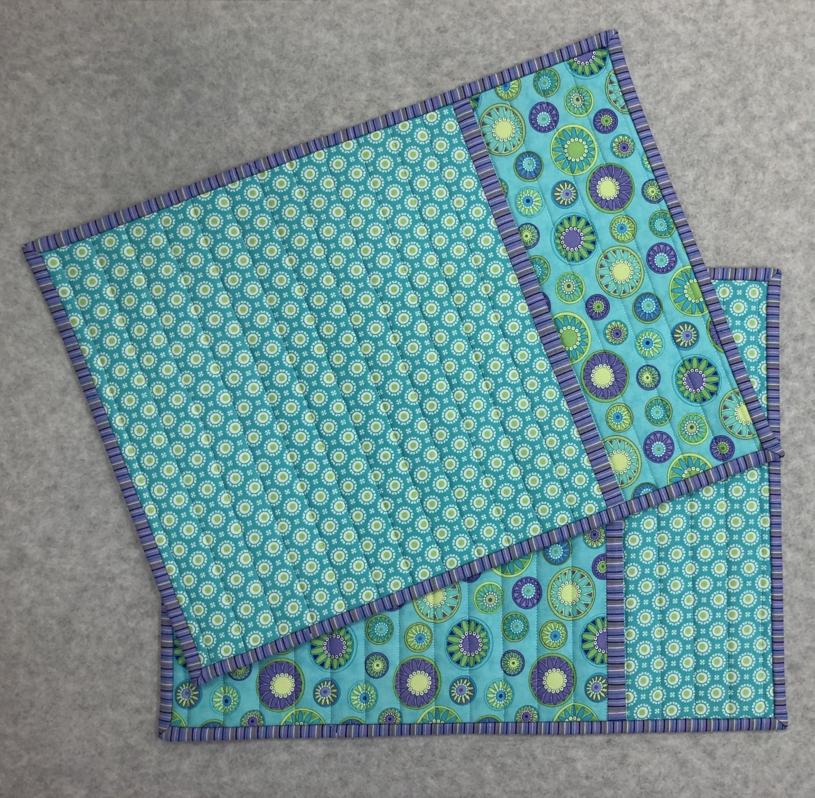 Double Trouble Placemats and Tablerunners
