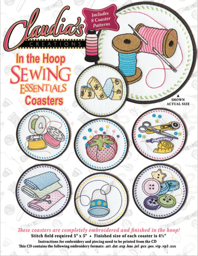 In the Hoop Sewing Essentials
