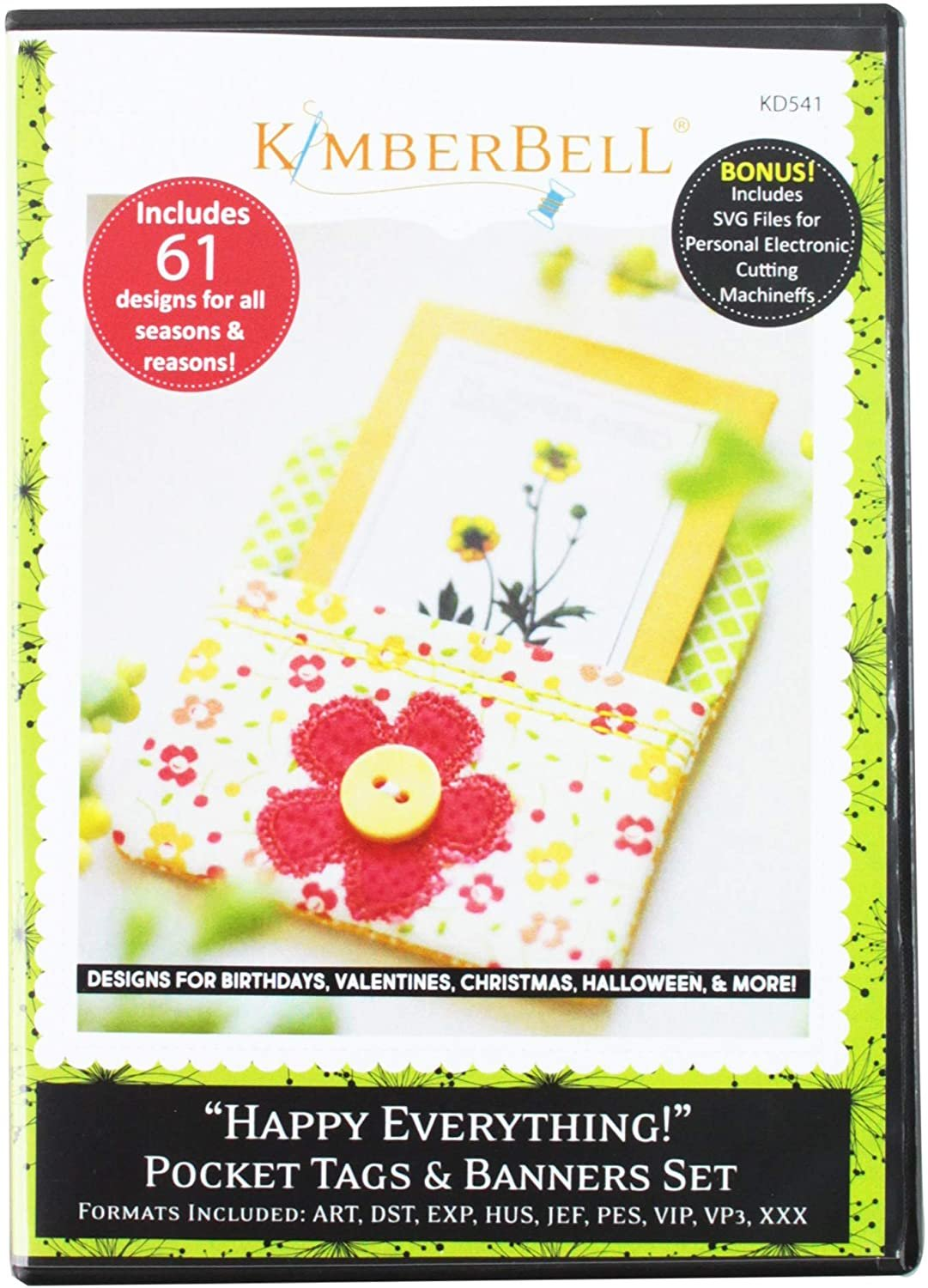 Happy Everything Pocket Tags and Banners - design CD