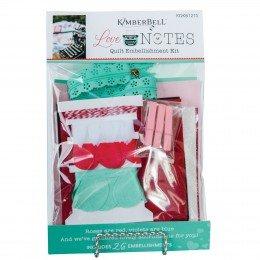 Kimberbell Love Notes Embellishment Kit