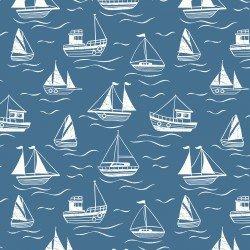 Sail Boats Blue