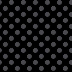 Dots - Black with Gray Dots