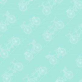 Vintage Boardwalk - Diagonal Bikes - Teal