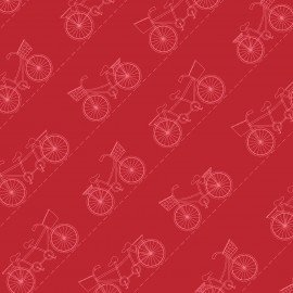 Vintage Boardwalk - Diagonal Bikes - Red