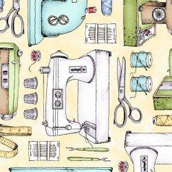 Sewing Machines - Yellow
