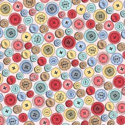 Button Collection - Pink