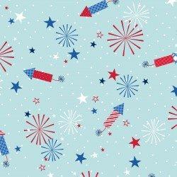 Fireworks - Aqua