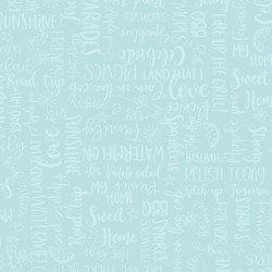 Wordy Words - Aqua