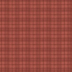 Woolies Flannel - Plaid - Red/Orange