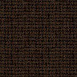 Woolies Flannel - Houndstooth - Brown/Black