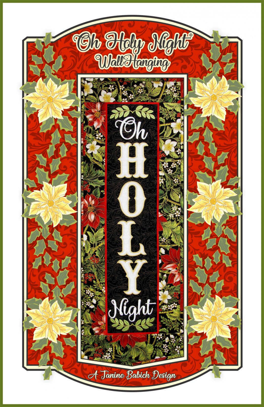 Oh Holy Night - Wall Hanging