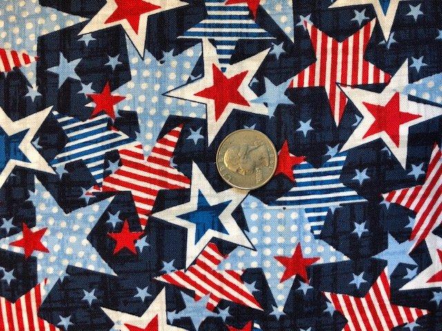Truckin' in the USA - Patriotic Stars