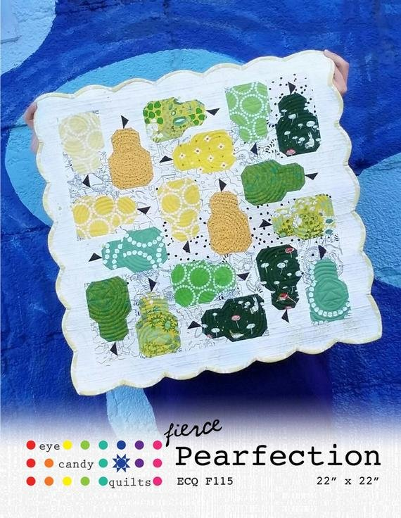 Fierce Pearfection by Eye Candy Quilts